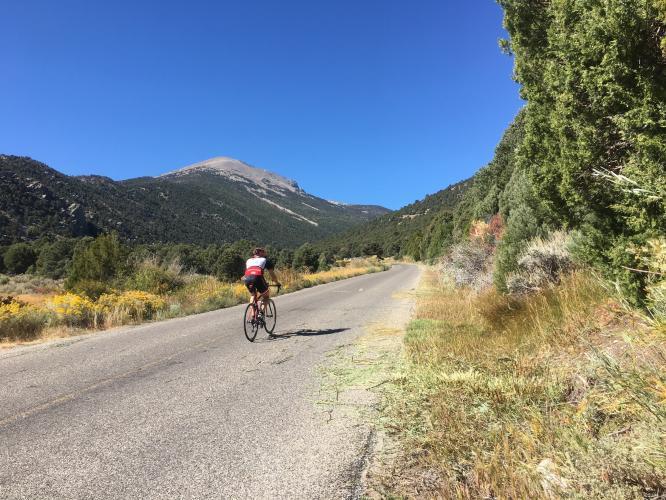 Wheeler Peak Bike Climb - PJAMM Cycling