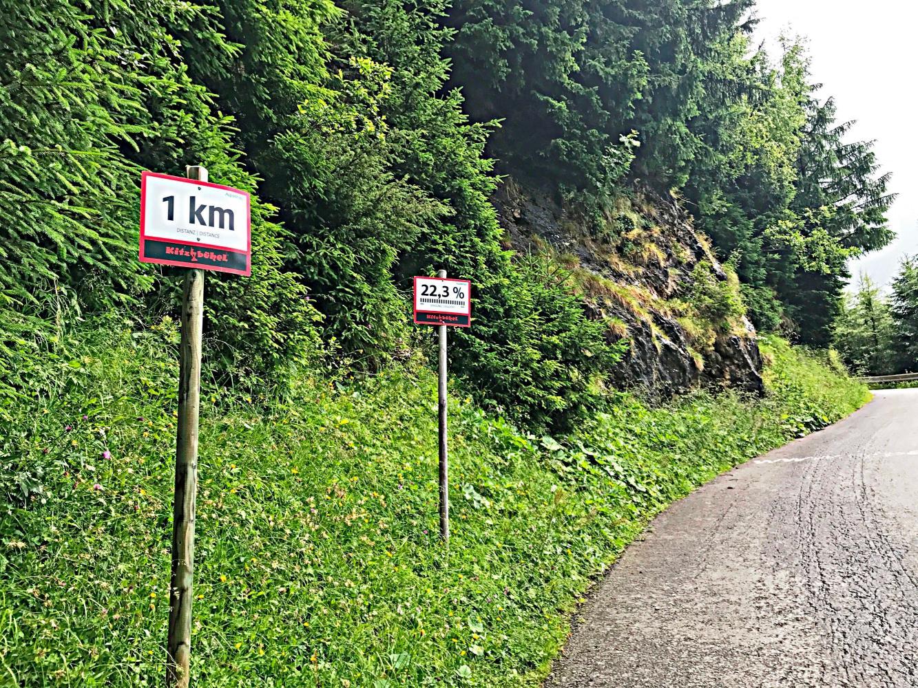 Kitzbuheler Horn Bike Climb - PJAMM Cycling