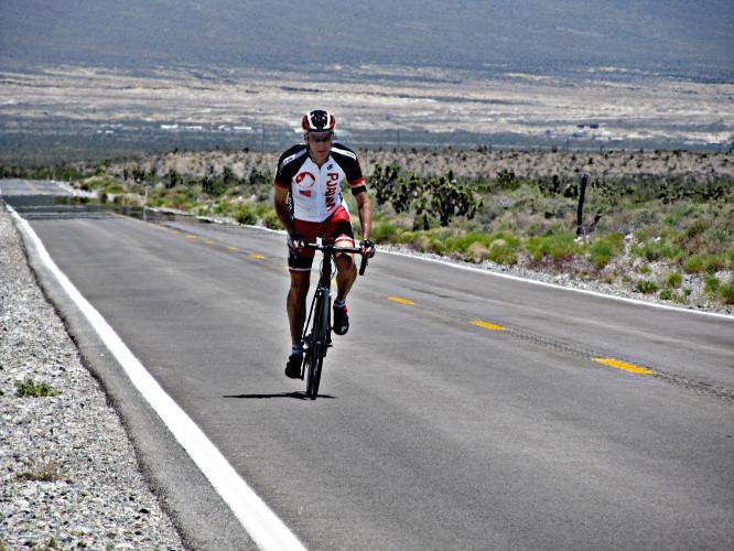 Lee Canyon + Hwy 158 Bike Climb - PJAMM Cycling