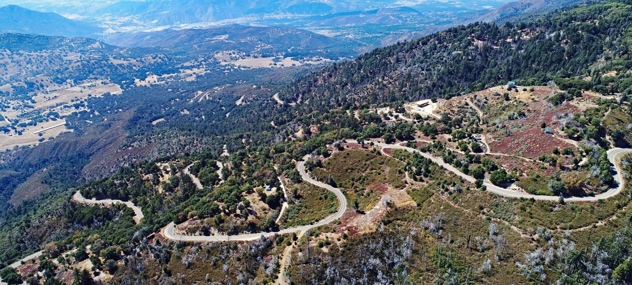 Palomar Mountain South Grade Bike Climb - PJAMM Cycling