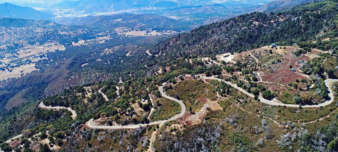 Palomar Mountain South Grade Bike Climb - PJAMM Cycling