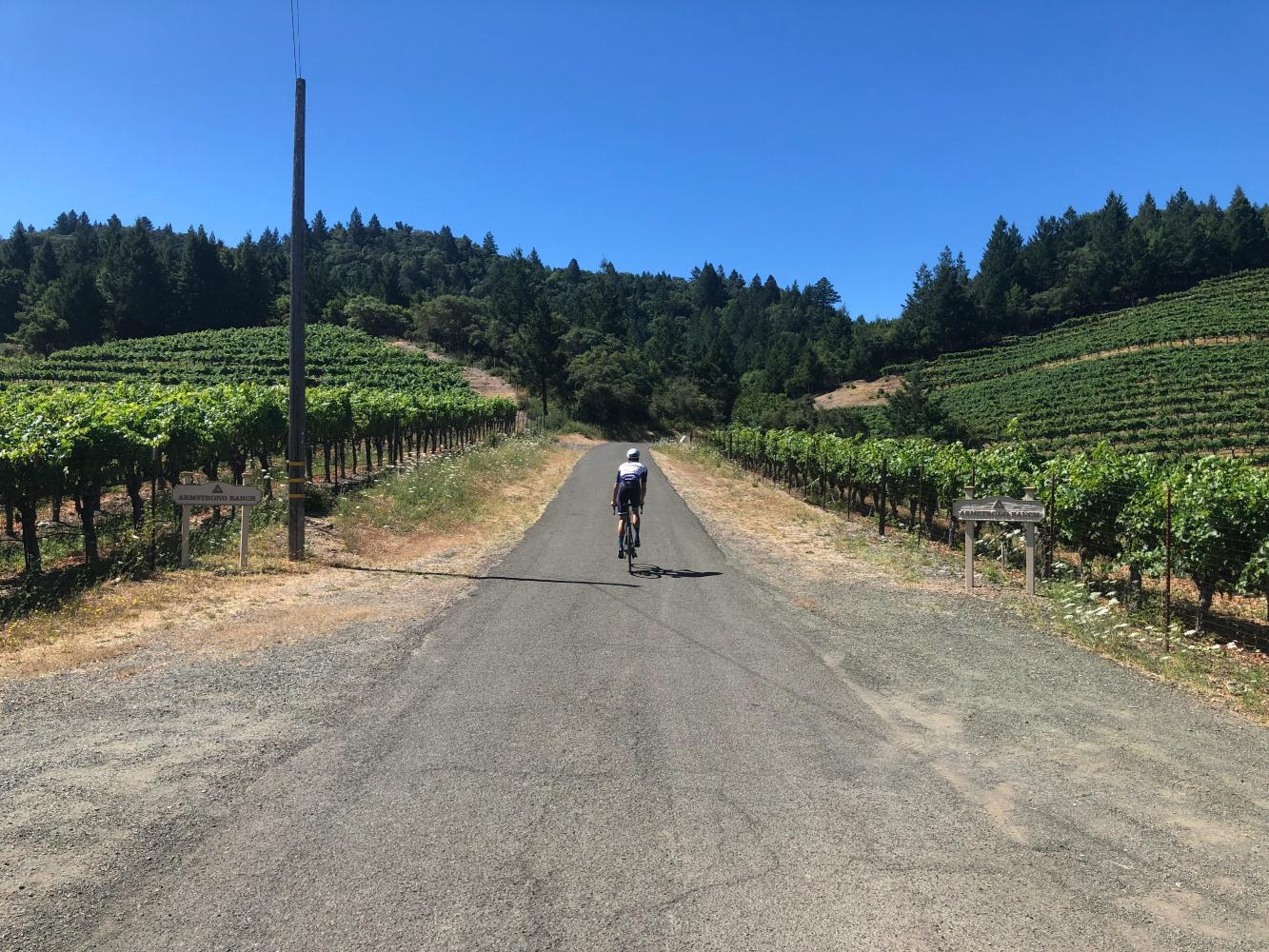 Kortum Canyon Bike Climb - PJAMM Cycling