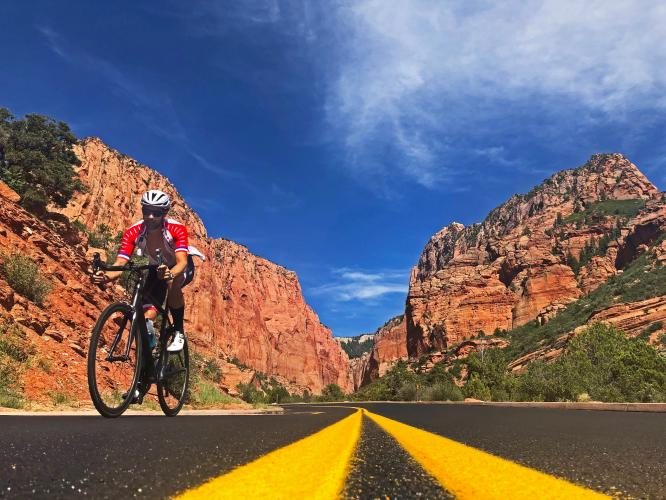 Kolob Canyon Road Bike Climb - PJAMM Cycling