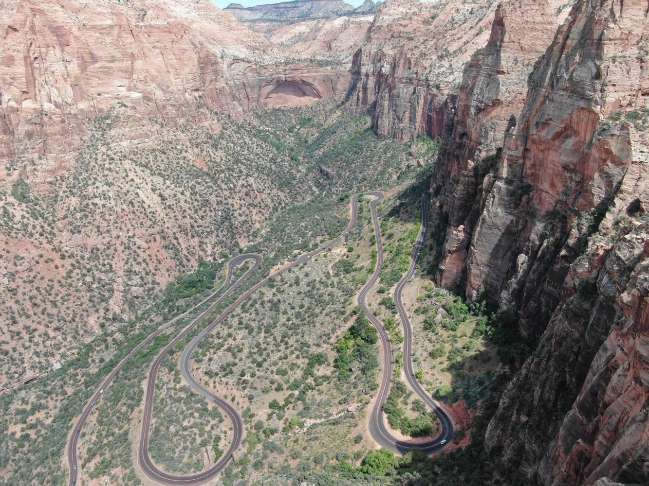 Hwy 9 Zion NP Bike Climb - PJAMM Cycling