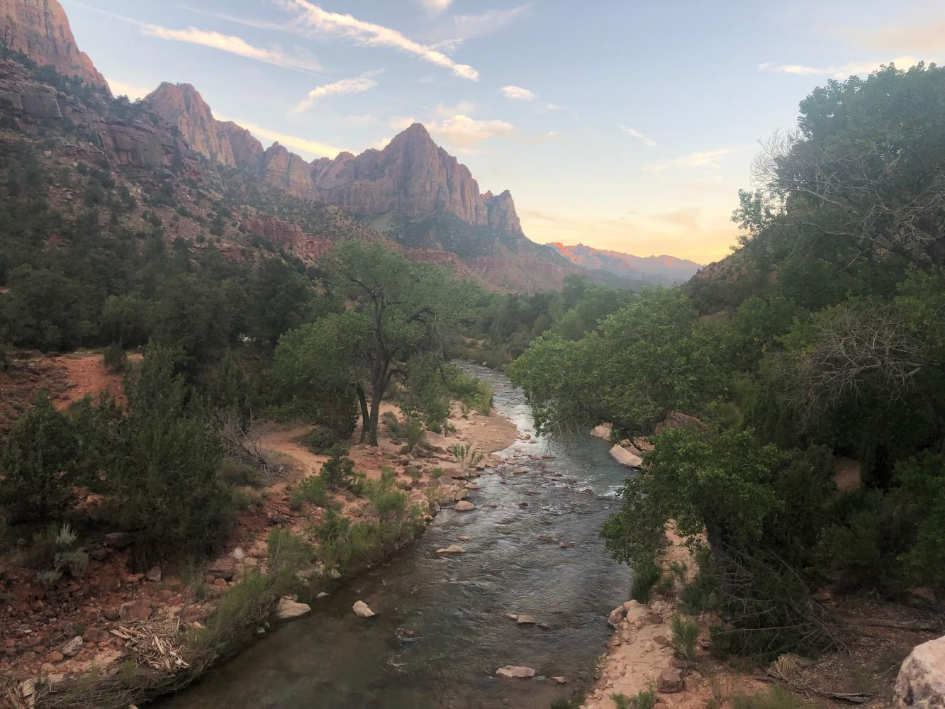 Zion Canyon Scenic Drive Bike Climb - PJAMM Cycling