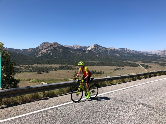 Galena Pass West Bike Climb - PJAMM Cycling