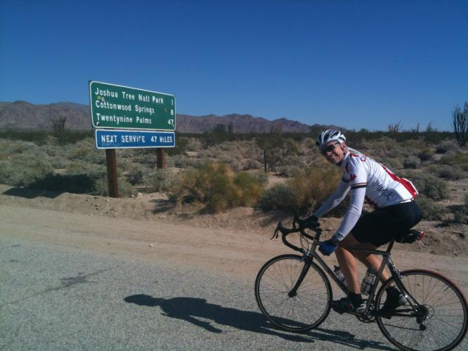 Pinto Basin Road South Bike Climb - PJAMM Cycling