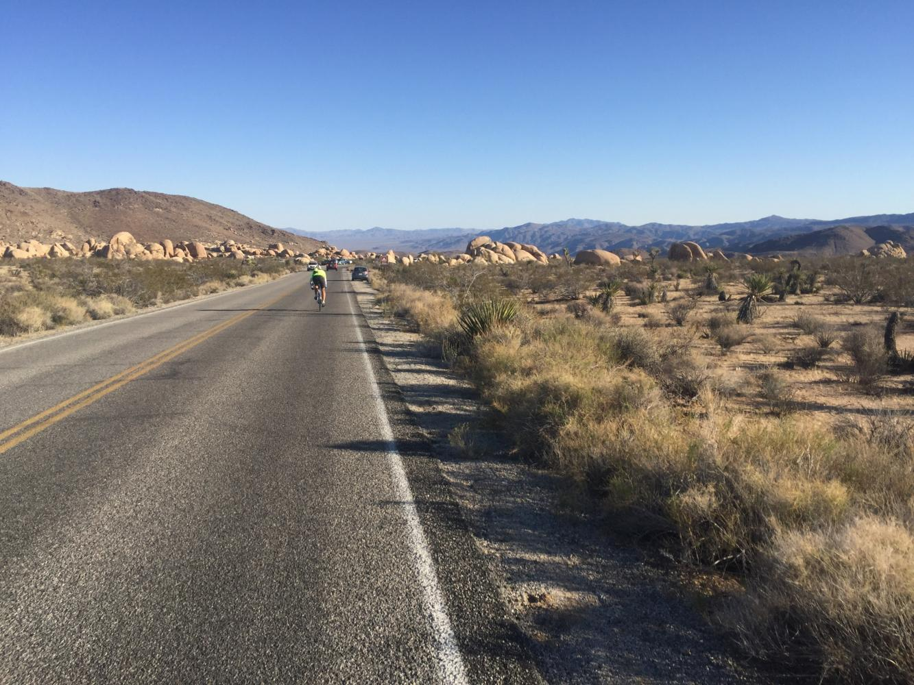 Pinto Basin Road North Bike Climb - PJAMM Cycling