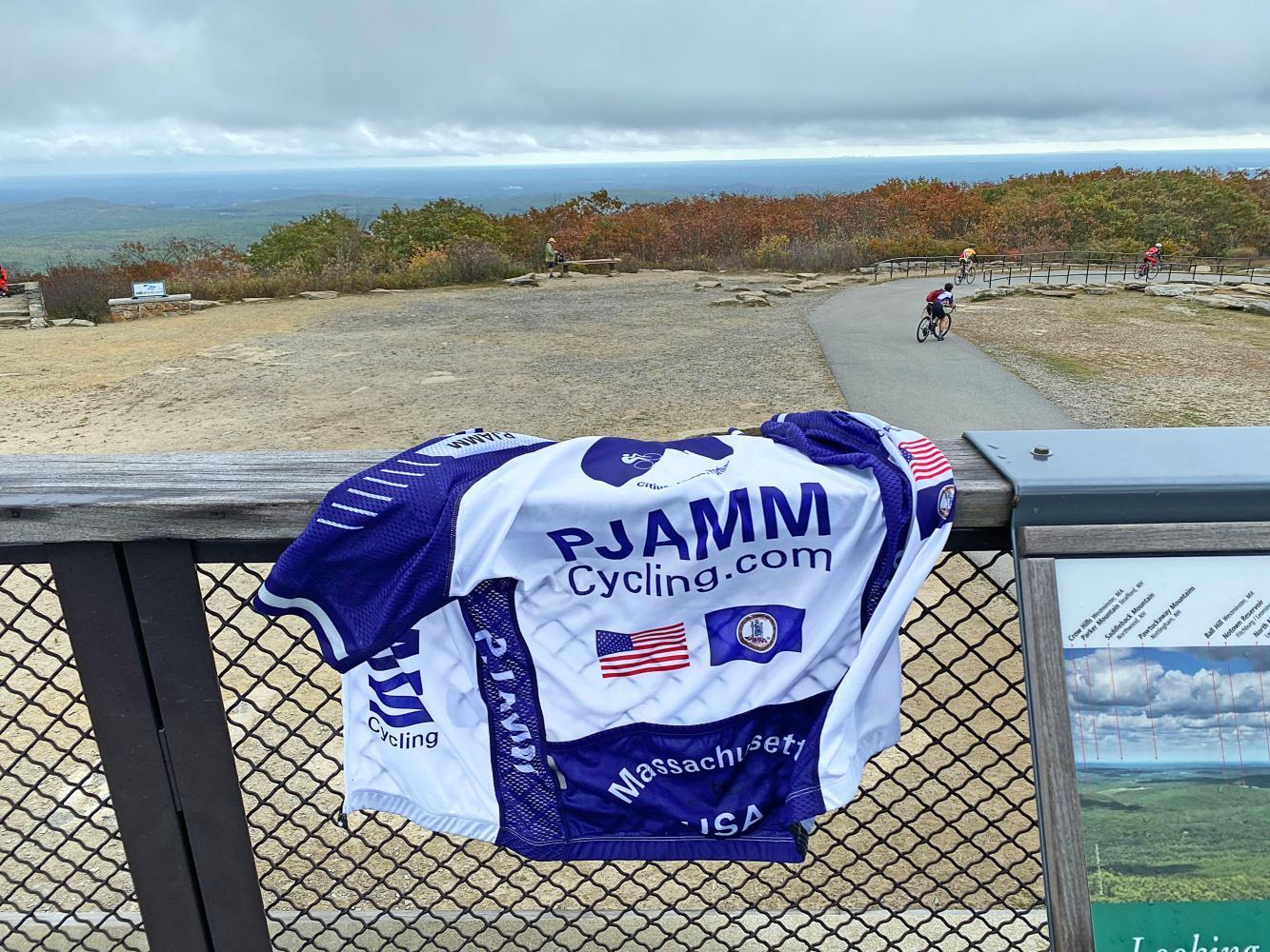 Wachusett Mountain East Bike Climb - PJAMM Cycling