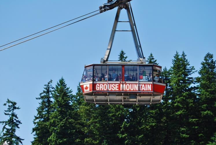 Grouse Mountain Bike Climb - PJAMM Cycling