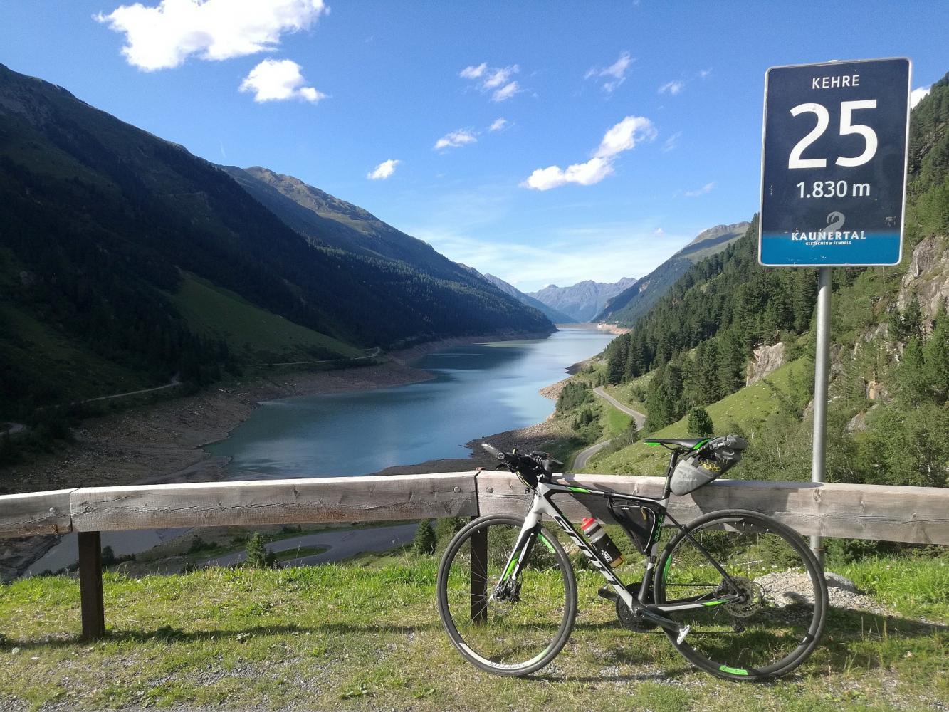 Kauntertal Gletscher Bike Climb - PJAMM Cycling