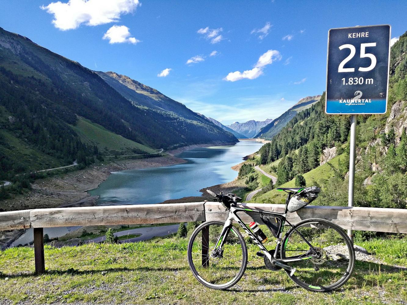 Kauntertal Gletscher Bike Climb - PJAMM Cycling