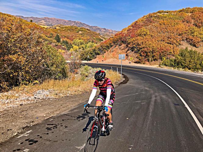 Emigration Canyon West Bike Climb - PJAMM Cycling