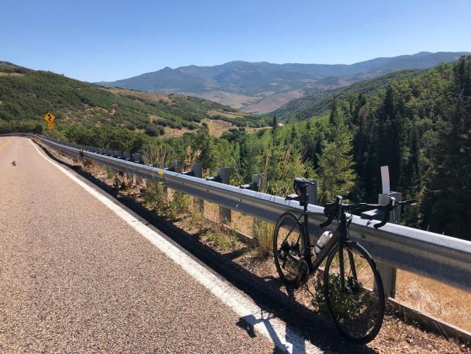Big Mountain Summit East Bike Climb - PJAMM Cycling
