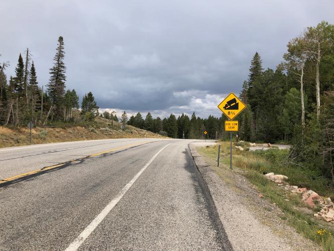 Bear Lake Summit West Bike Climb - PJAMM Cycling