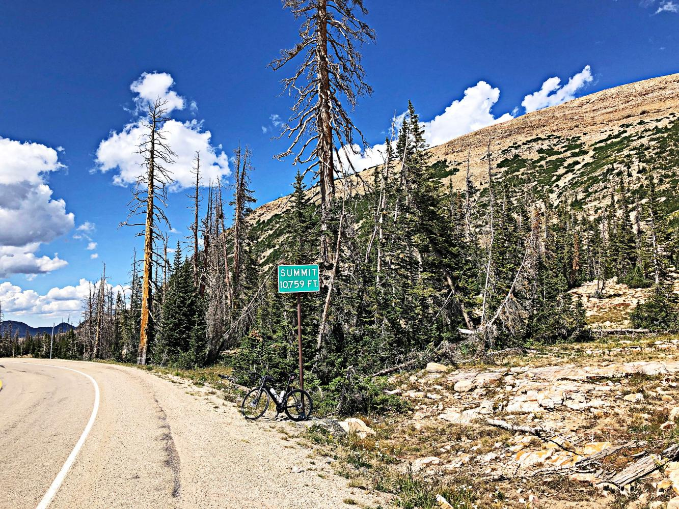 Bald Mountain Pass West Bike Climb - PJAMM Cycling