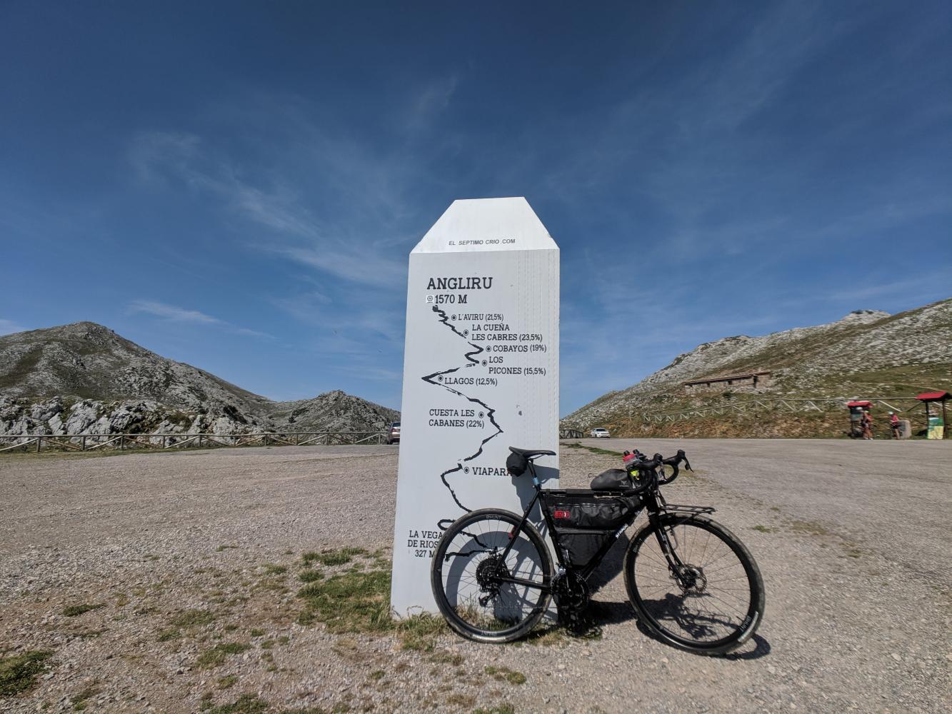 Alto de l'Angliru Bike Climb - PJAMM Cycling