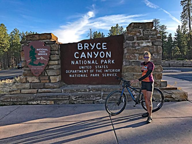 Bryce Canyon East Bike Climb - PJAMM Cycling