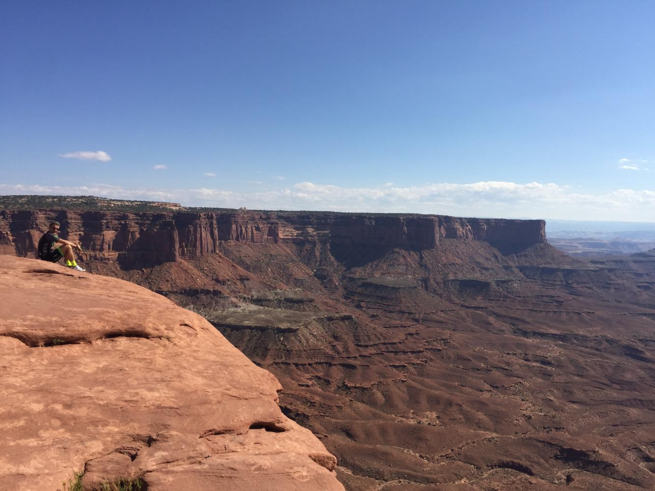 Canyonlands NP Bike Climb - PJAMM Cycling