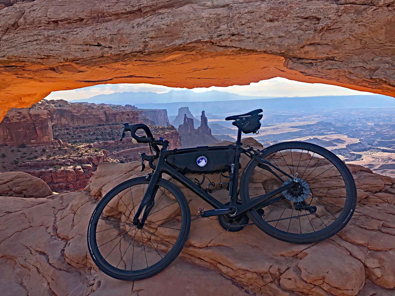 Canyonlands NP Bike Climb - PJAMM Cycling