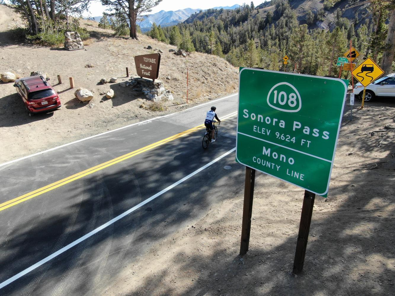 Sonora Pass West Bike Climb - PJAMM Cycling
