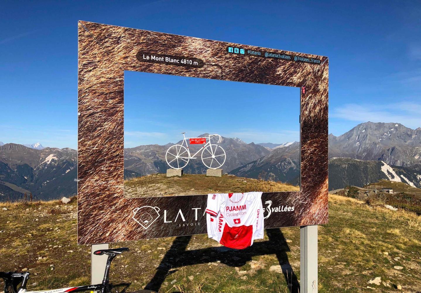 Col de la Loze (Meribel) Bike Climb - PJAMM Cycling