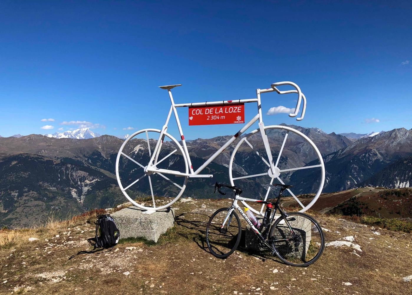 Col de la Loze (Courchevel) Bike Climb - PJAMM Cycling