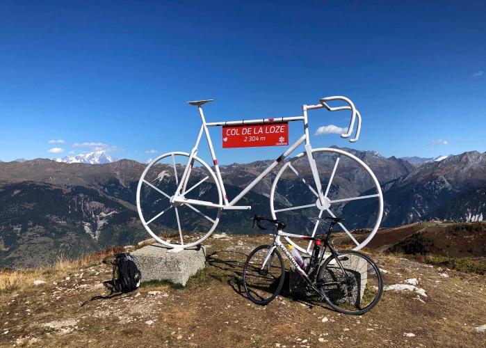 Col de la Loze (Courchevel) Bike Climb - PJAMM Cycling