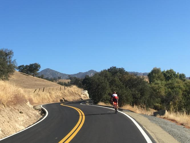 Shirley Meadows West Bike Climb - PJAMM Cycling