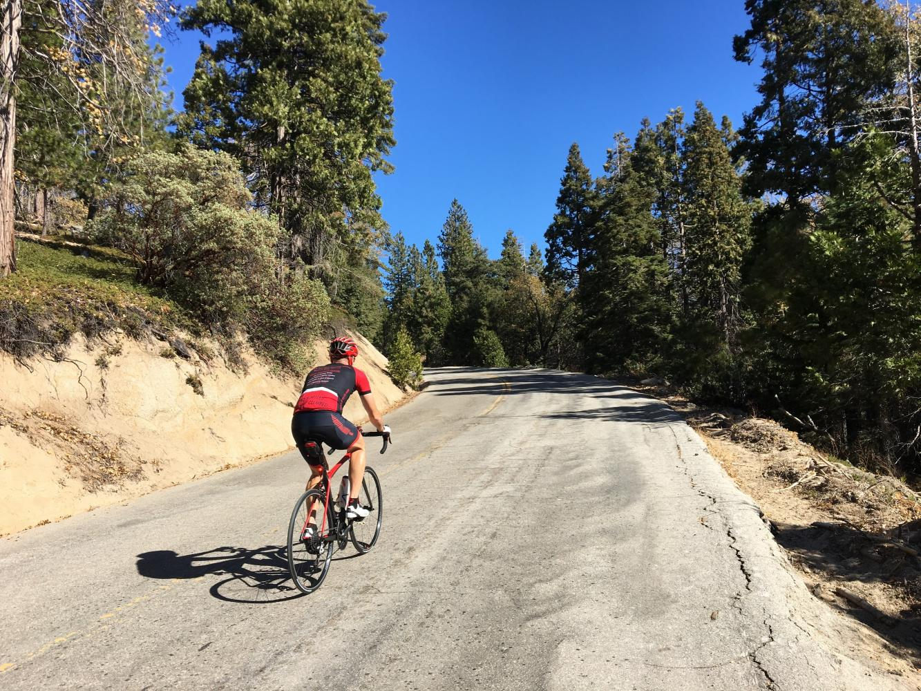 Parker Pass West Bike Climb - PJAMM Cycling