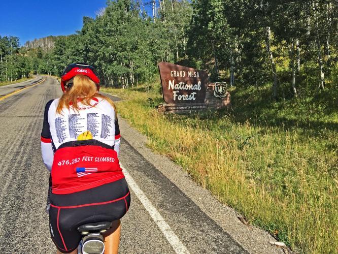 Grand Mesa South Bike Climb - PJAMM Cycling