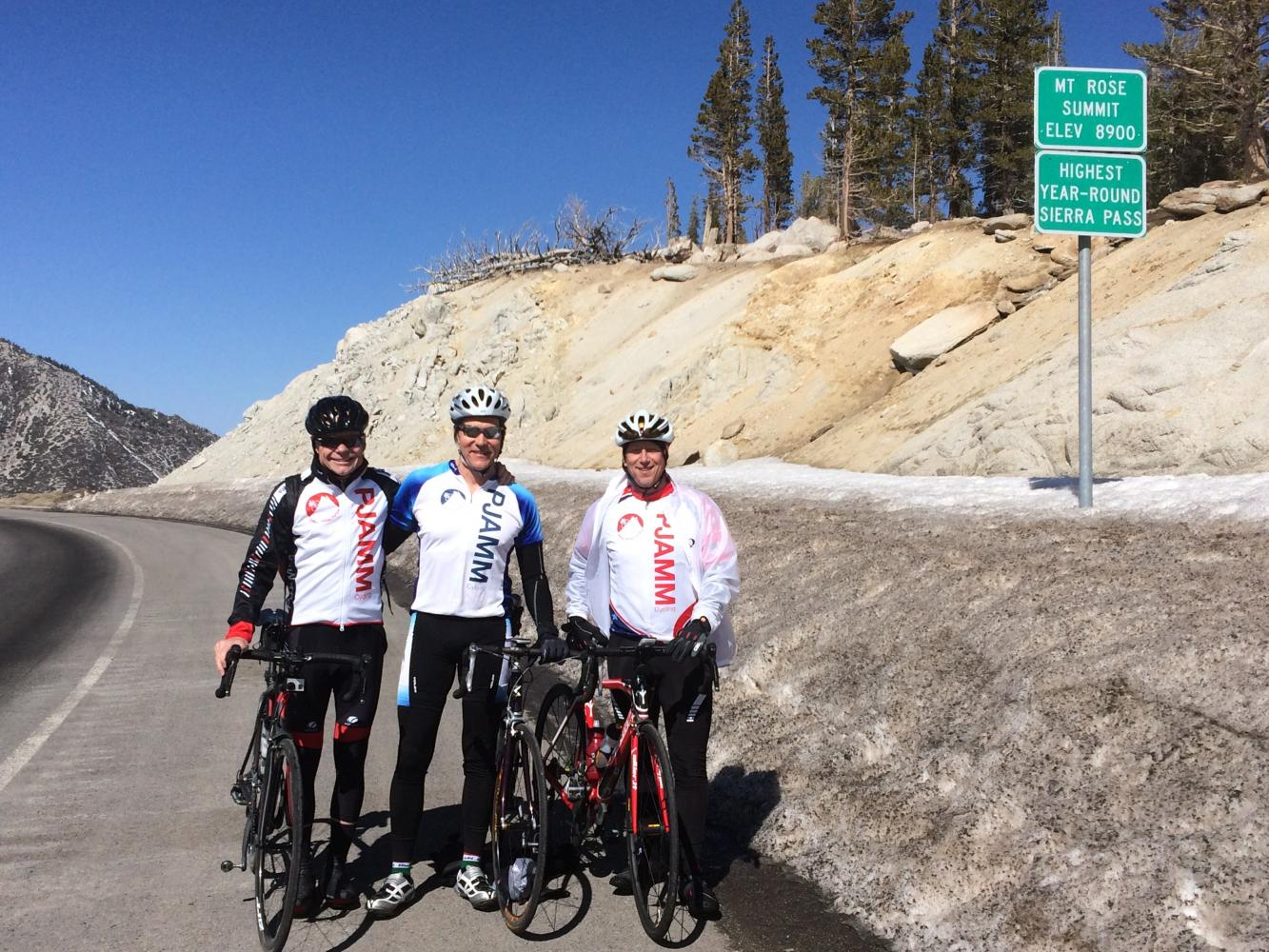 Mt. Rose East Bike Climb - PJAMM Cycling