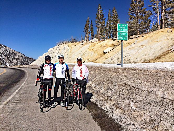 Mt. Rose East Bike Climb - PJAMM Cycling