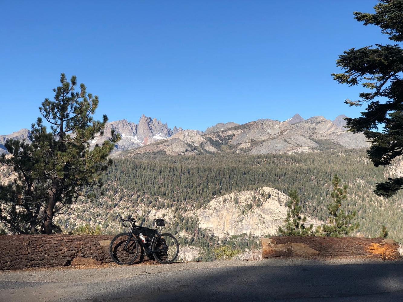 Minaret Summit West Bike Climb - PJAMM Cycling