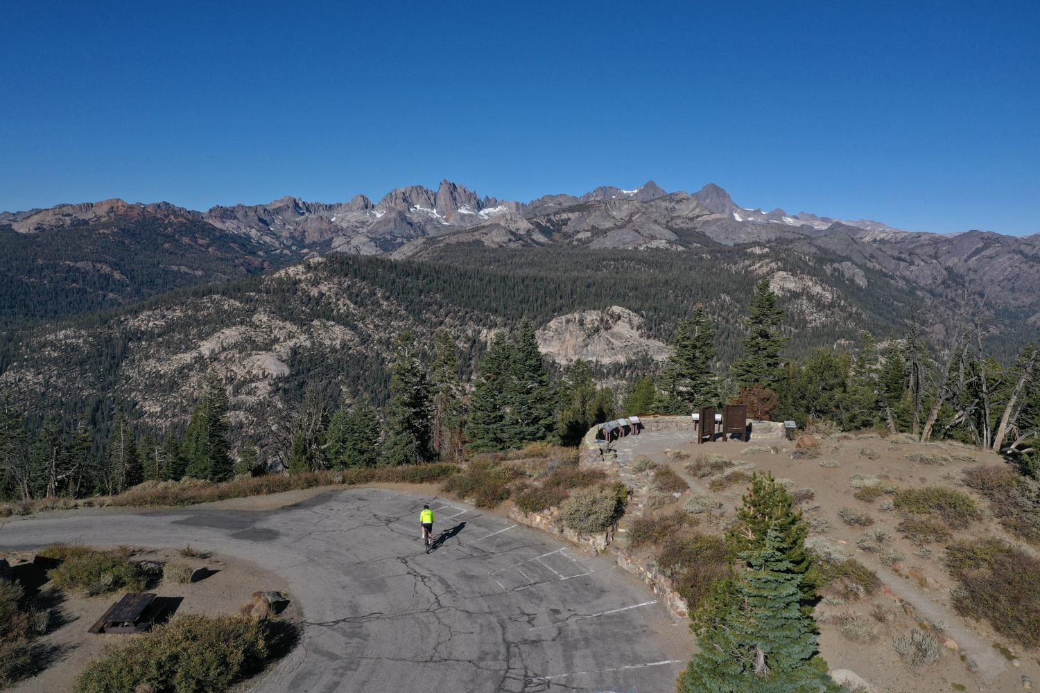 Minaret Summit East Bike Climb - PJAMM Cycling