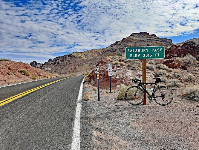 Salsberry Pass Bike Climb - PJAMM Cycling
