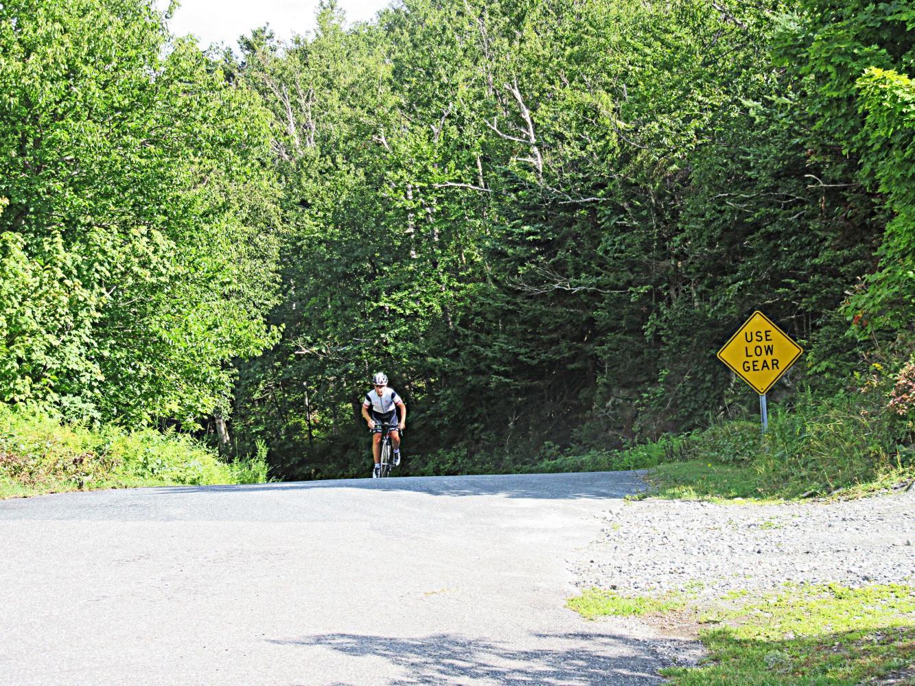 Mt. Ascutney Bike Climb - PJAMM Cycling