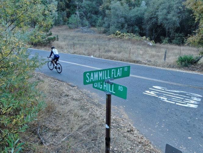 Big Hill Road Bike Climb - PJAMM Cycling
