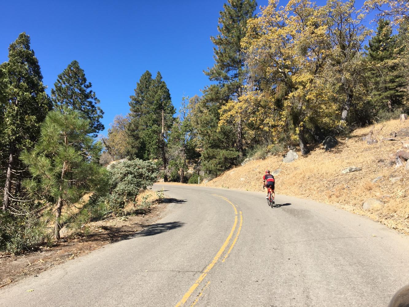 Parker Pass East Bike Climb - PJAMM Cycling