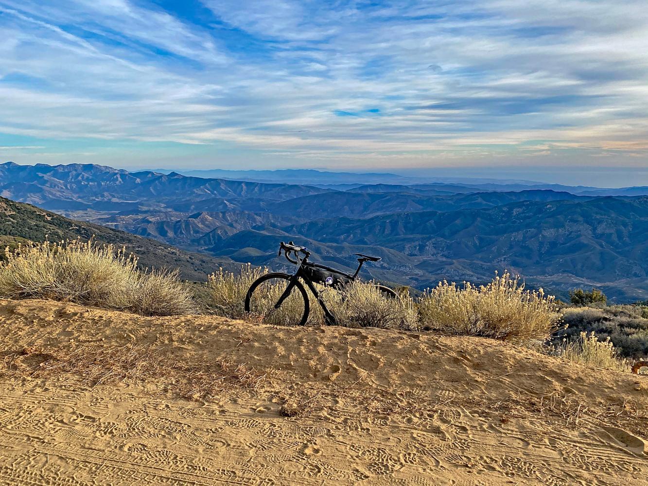 Hwy 33 to Pine Mountain Summit Bike Climb - PJAMM Cycling