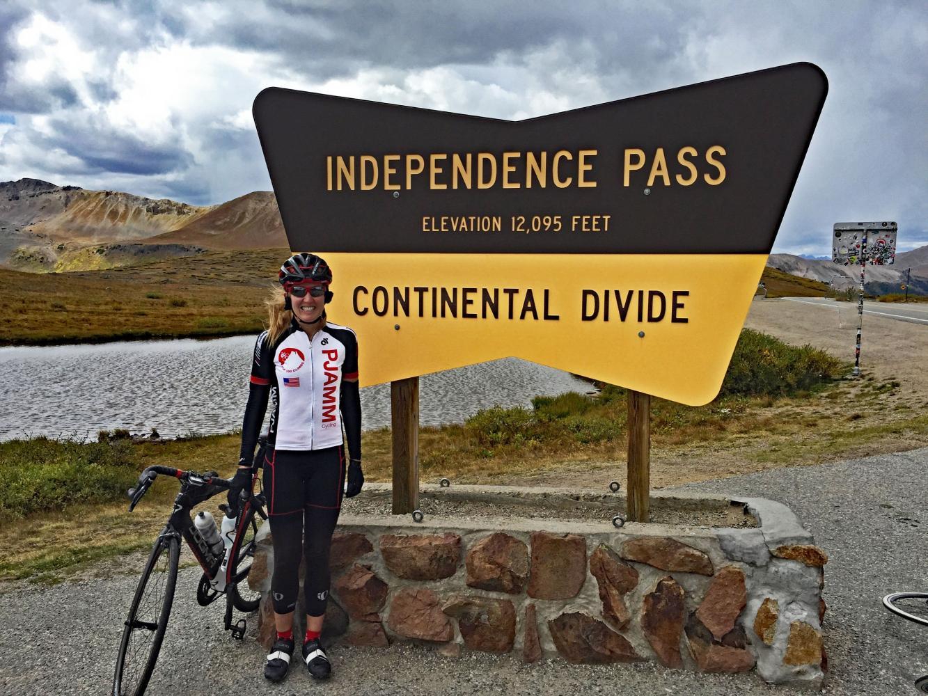 Independence Pass West Bike Climb - PJAMM Cycling
