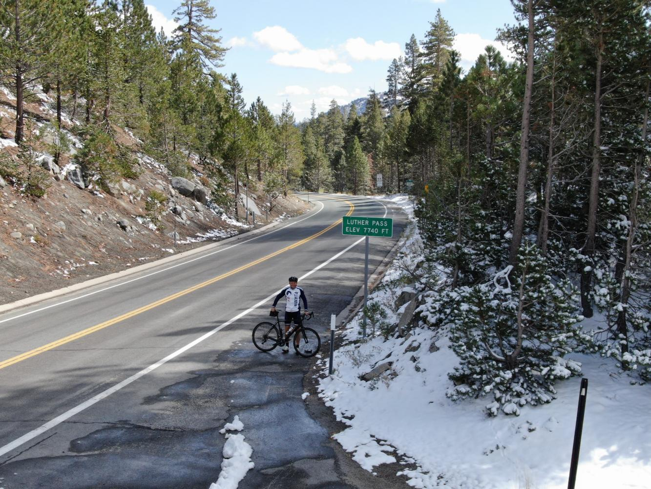 Luther Pass West Bike Climb - PJAMM Cycling