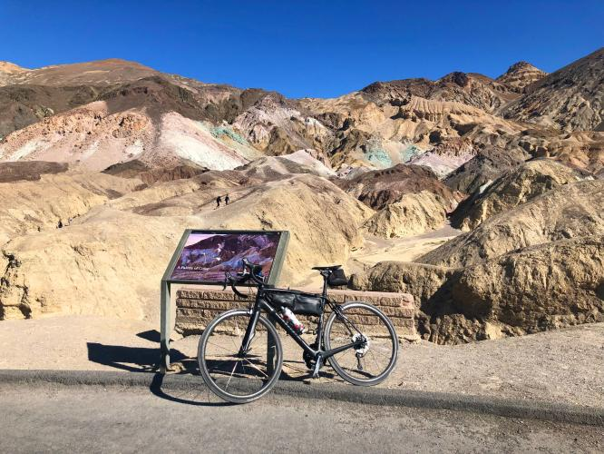 Artist Drive South Bike Climb - PJAMM Cycling
