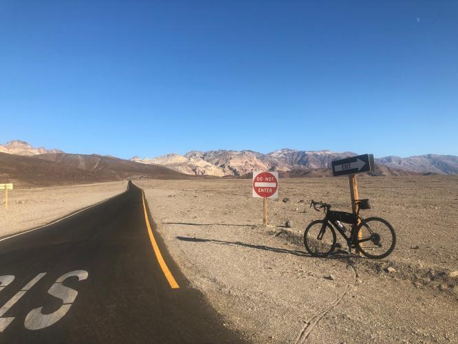 Artist Drive North Bike Climb - PJAMM Cycling