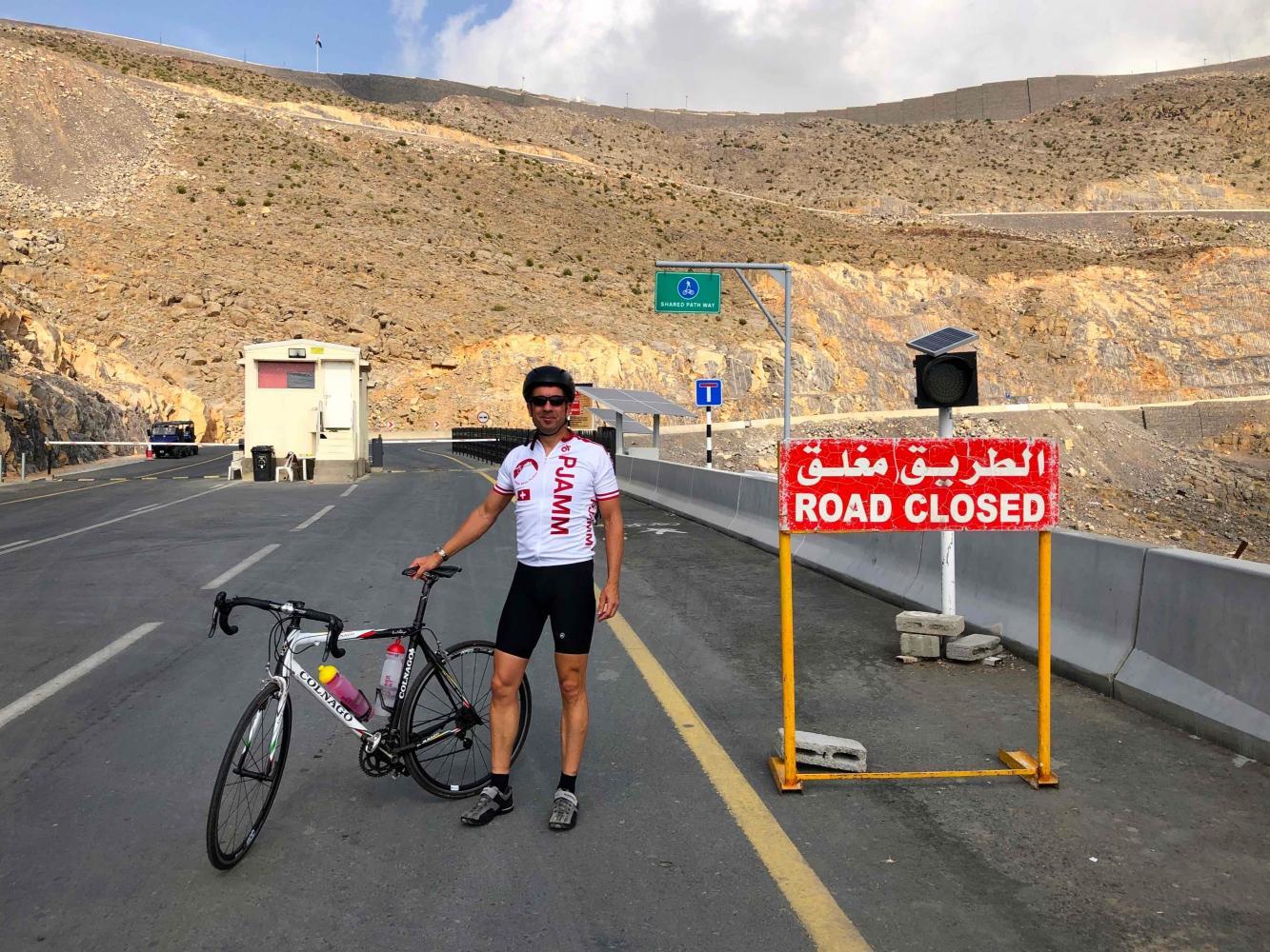 Jebel Jais Bike Climb - PJAMM Cycling
