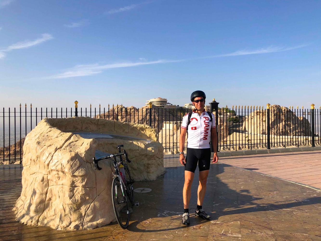 Jebel Hafeet Bike Climb - PJAMM Cycling
