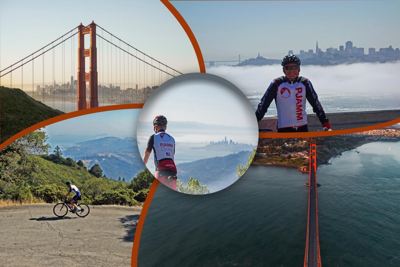 Golden Gate - Mt. Tam - Astro Bike Climb - PJAMM Cycling