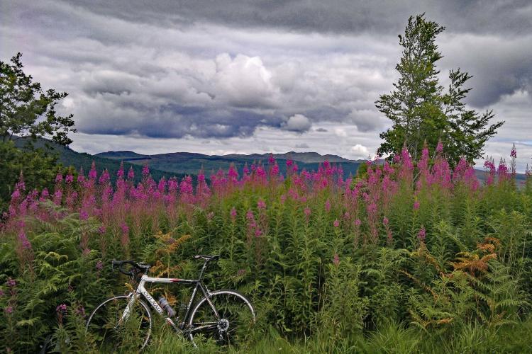 Stage 17 LEJOG 3535 14 September Bike Climb - PJAMM Cycling