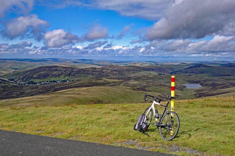 Lowther Hill (Elvanfoot) Bike Climb - PJAMM Cycling