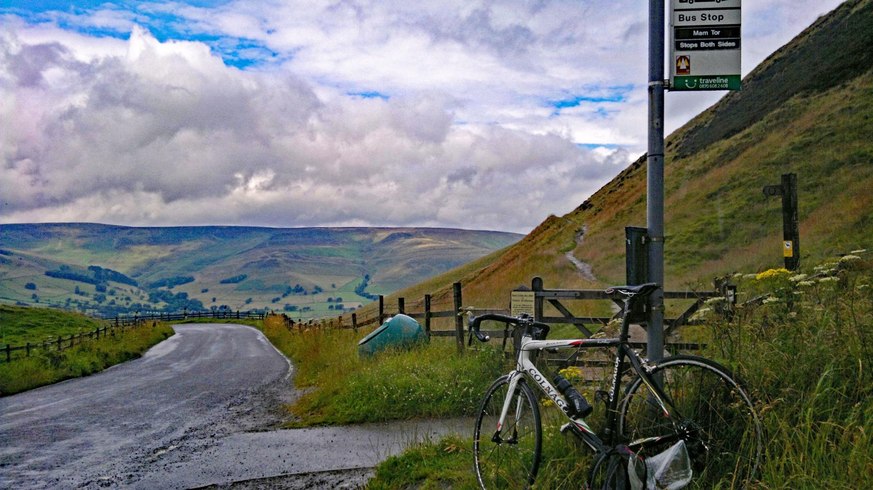 Mam Tor Southeast Bike Climb - PJAMM Cycling